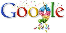 Cumpleaños 9 de Google