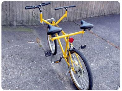 Bicicleta para dos personas