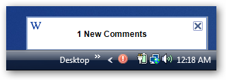 WordPress Comment Moderation Notifier
