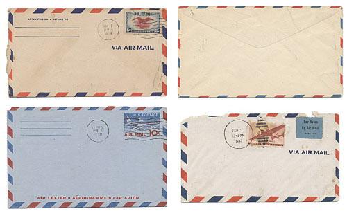 Pedido por correo vintage de halloween