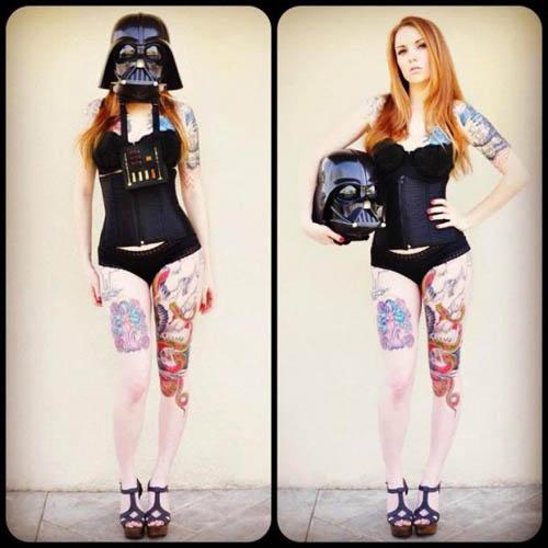 Cosplay de Darth Vader