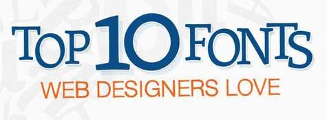 Tipografías preferidas por los diseñadores