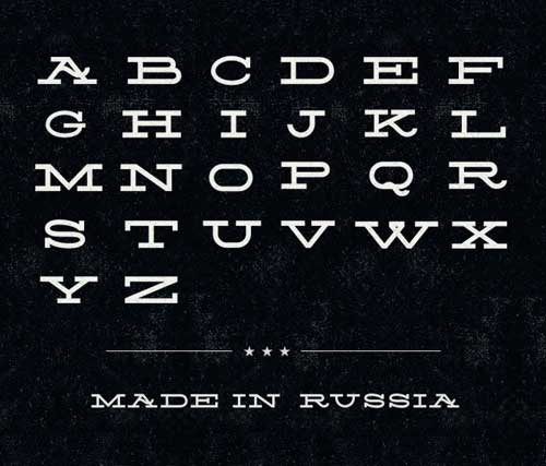 Tipografía Silverfake
