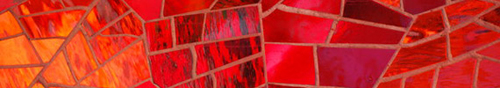 Textura Red Glass