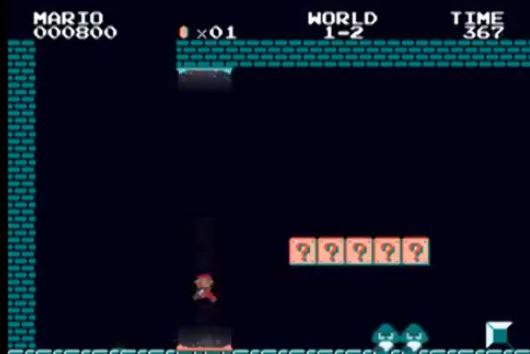 Juego Mari0, fusión entre Mario Bros y portal