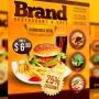 Creativo diseño de menú para restaurante de comida rápida
