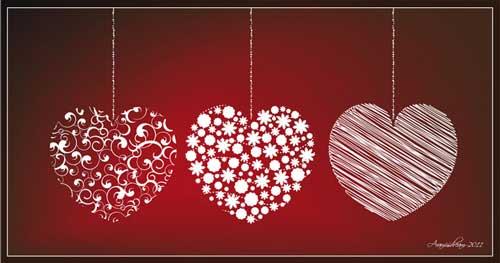 Vectores de San Valentín para descargar