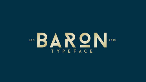 Tipografía Baron
