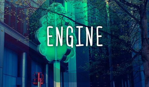 Tipografía Engine