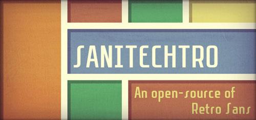 Tipografía Sanitechtro