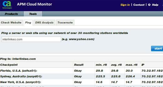 Just Ping, servicio para detectar si nuestro servidor funciona bien o si se encuetnra caído
