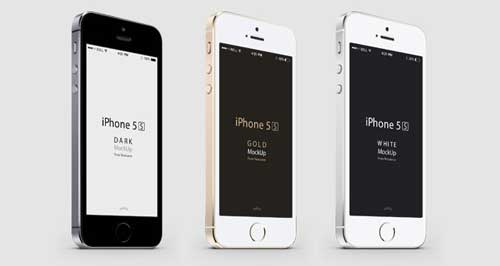 Mockups iPhone 5s