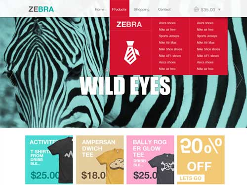 Plantillas PSD Zebra