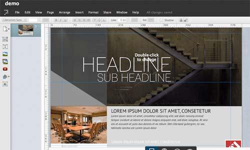 Lucidpress revistas online