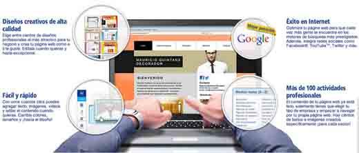 Página webs fácilmente con 1&1 myweb