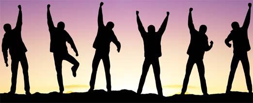 Éxito empresarial y personal
