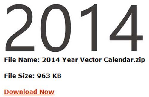Nuevamente traemos un calendario 2014 para descargar de manera ...