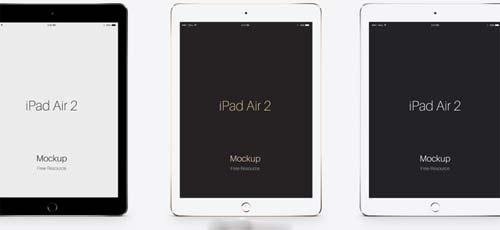 Mockups de Apple