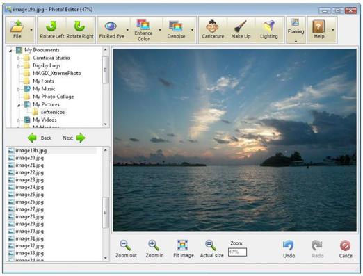 Photo Editor 1.1  programa