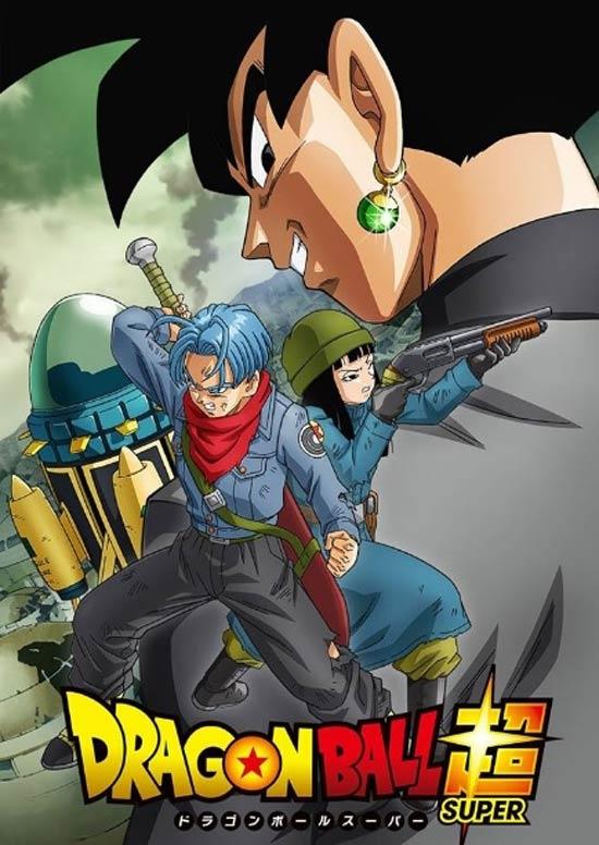 DragonBallSuper, GokuBlack, Trunks, Futuro, Super Saijayin